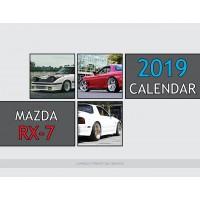 Mazda RX-7 2019 calendar