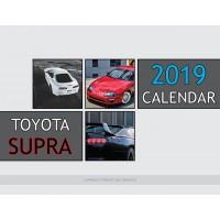 Toyota Supra 2019 calendar