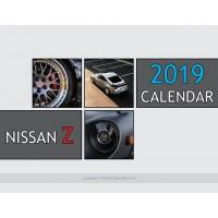 Nissan Z Cars 2019 calendar