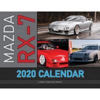 Mazda RX-7 2020 calendar