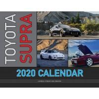 Toyota Supra 2020 calendar