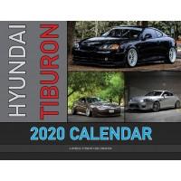 Hyundai Tiburon 2020 calendar